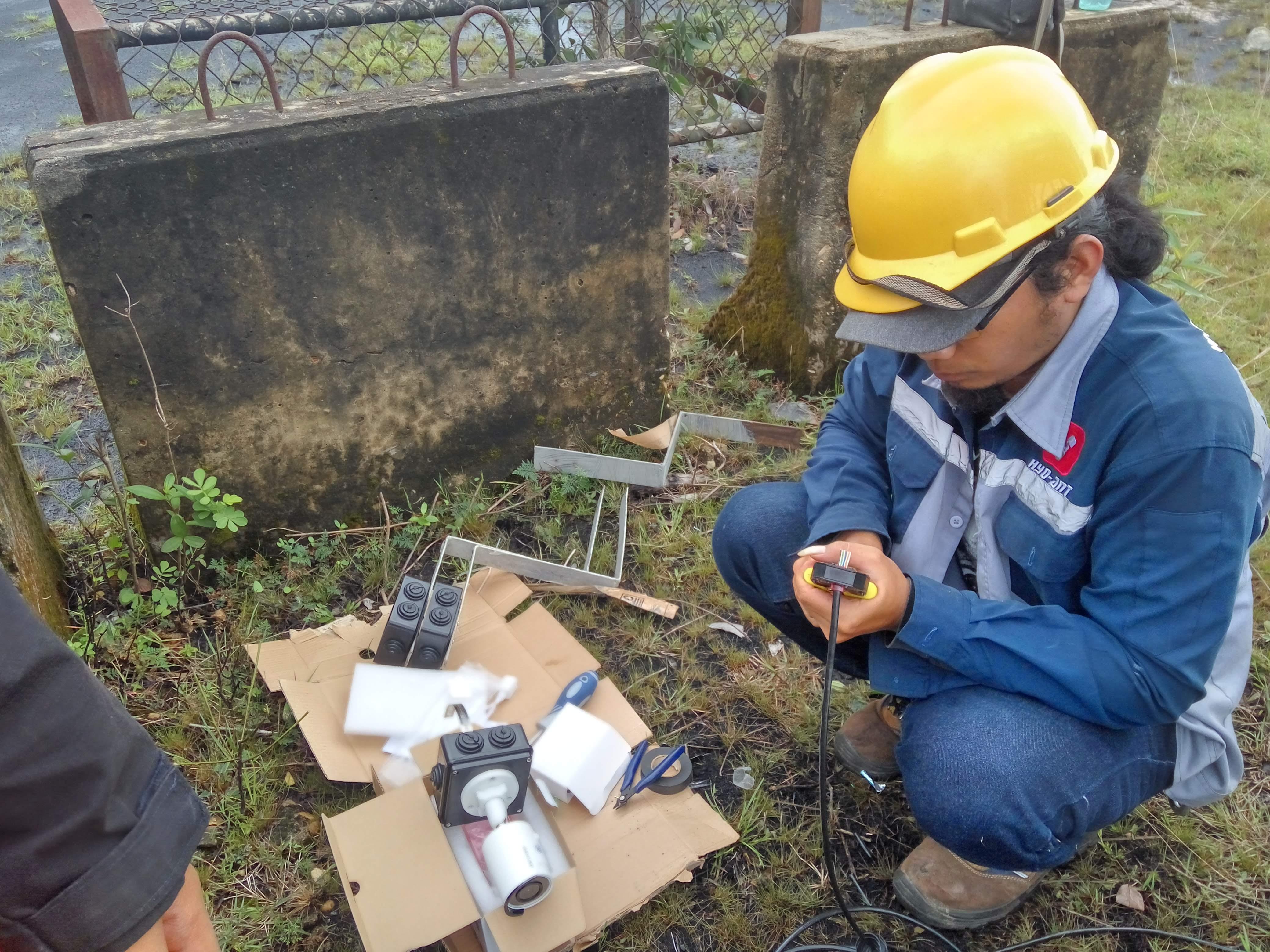 PT. JORONG BARUTAMA GRESTON CCTV Surveillance, Local Fiber Optic & Radio PTMP